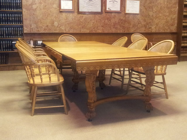 Schroeder-DeGraw interior table classic